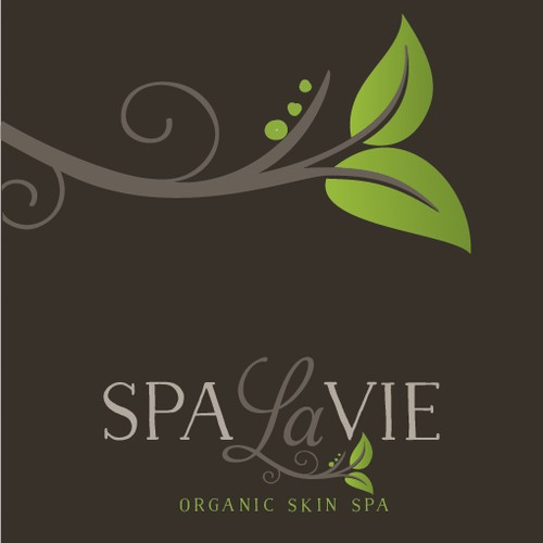 Create an Organic Logo for Spa La Vie