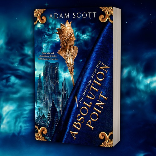 Book cover design - Absolution Point by author Adam Scott