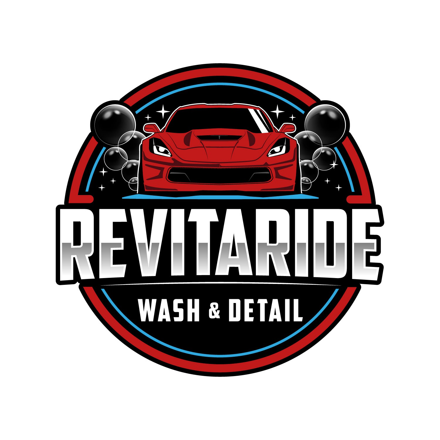 Clever logo for Car wash and detail business!