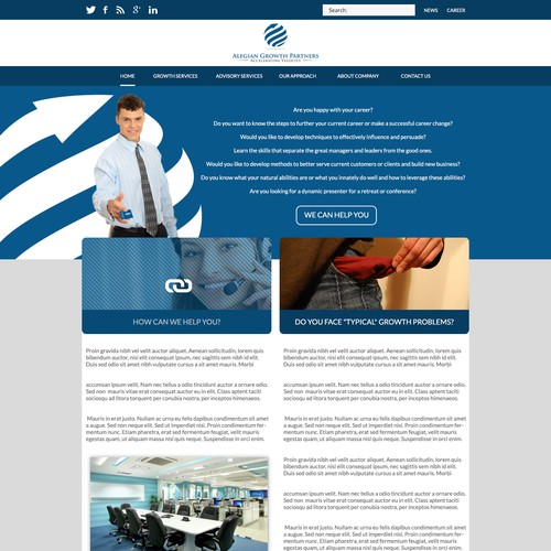 WEBSITE for business consulting group