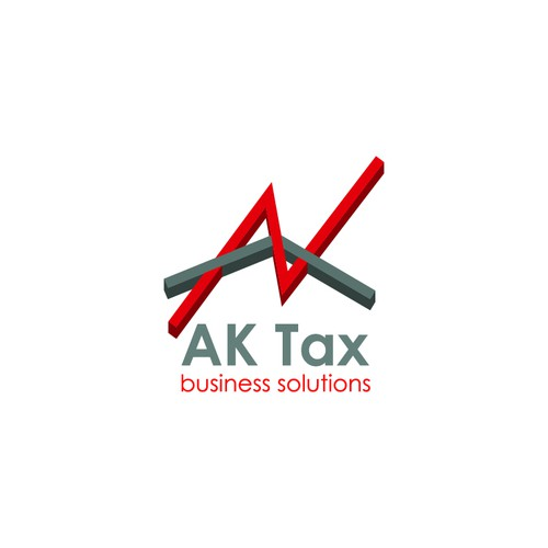 Logo for AK Tax