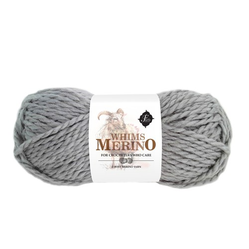Luxury yarn packaging (paper wrap)