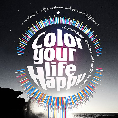 Color Your Life Happy Book Cover