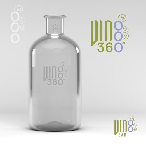 VINOO 360˚ wine logo