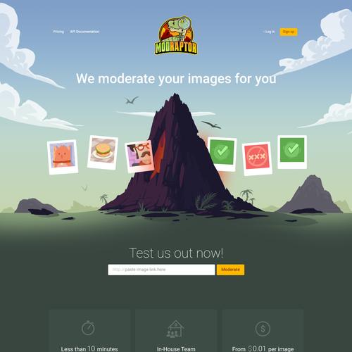 Modraptor image moderation