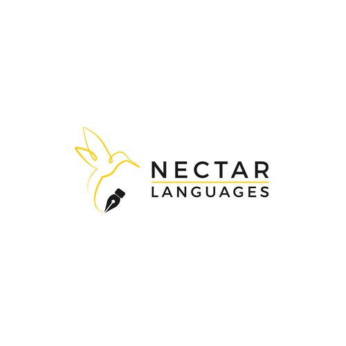 Logo for a freelance translator.