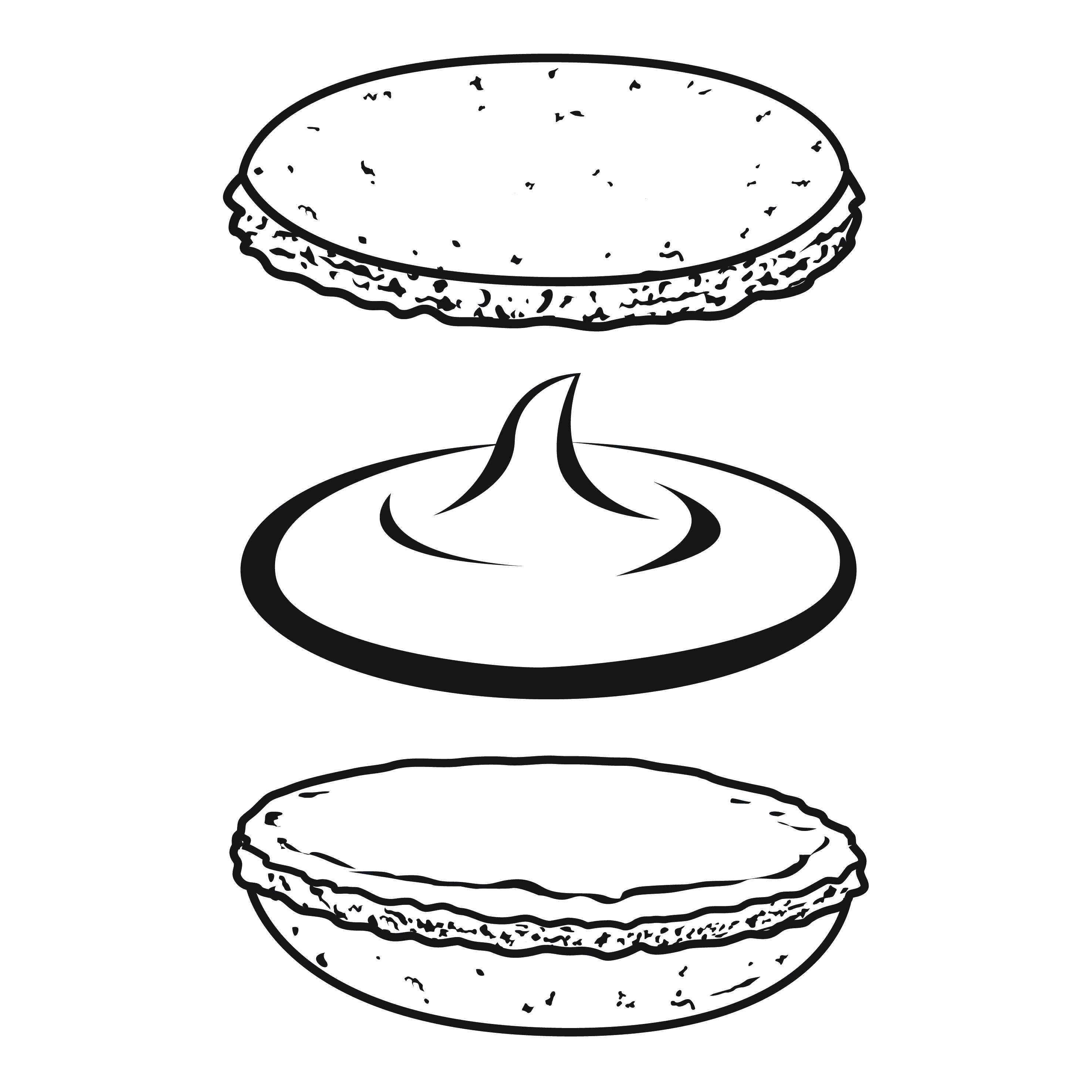 Macaron Illustration