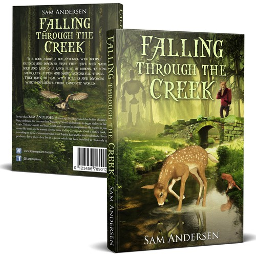 A fantastic cover for fantasy book