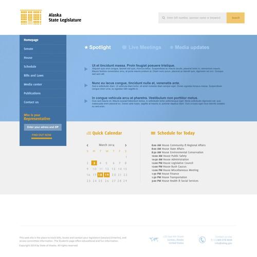 Redesign the Alaska Legislature's Website!