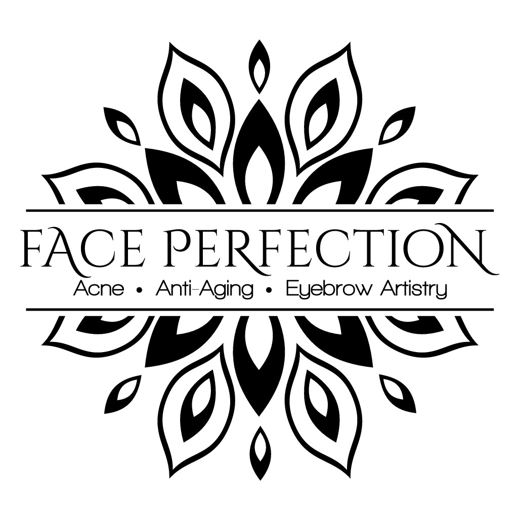 Create a fresh, enticing logo for Face Perfection to communicate the promise of healthy, beautiful skin.