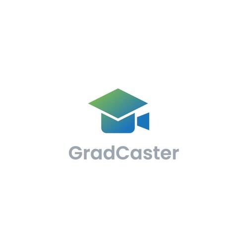 Logo Design for GradCaster