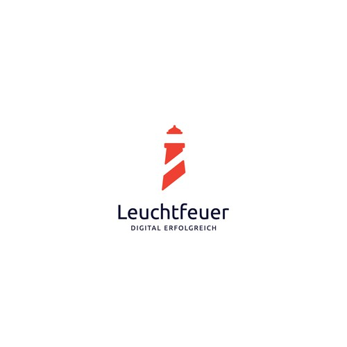 """Lighthouse"" logo for online marketing company"