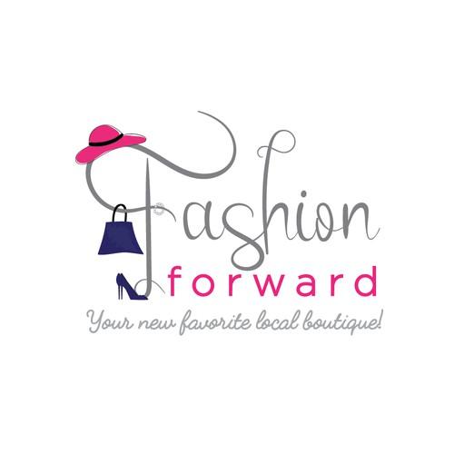 Logo for Fashion forward