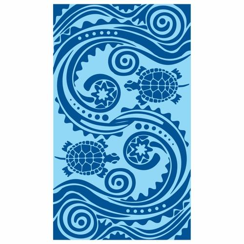 DOLPHIN & TURTLE BEACH TOWEL