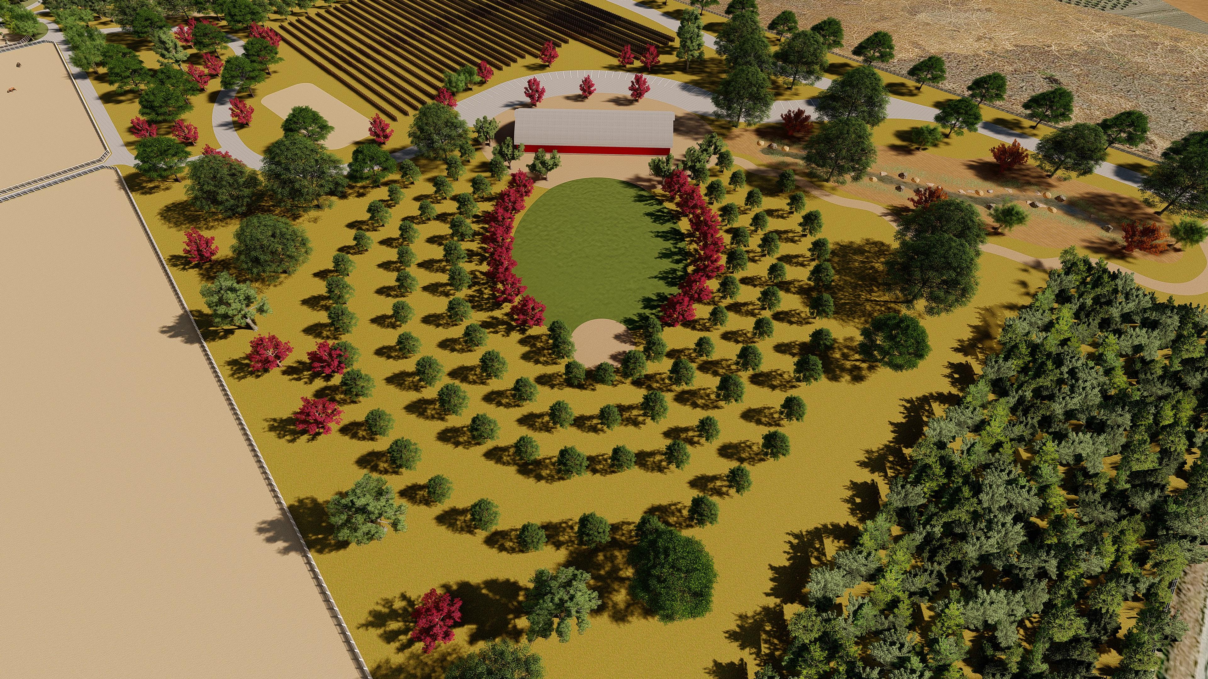 Bartlett ranch renderings