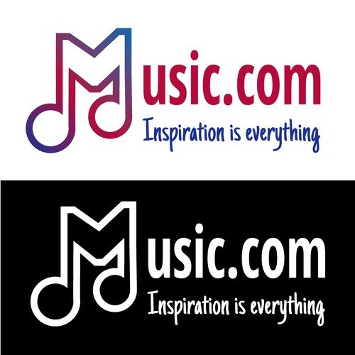 Logo for music.com