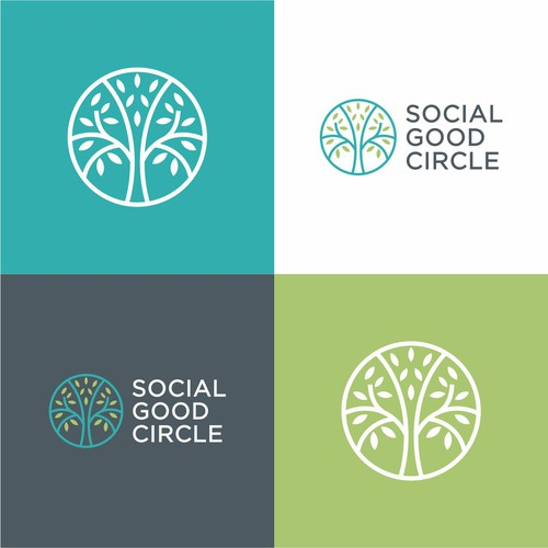 Logo design for social good circle
