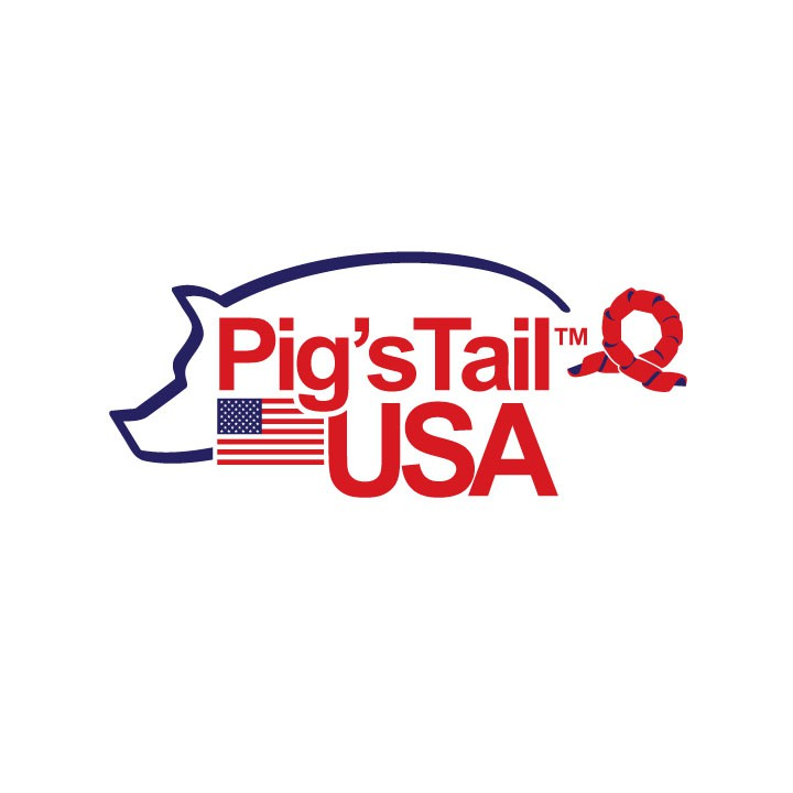 Create the next logo for Pig's Tail USA