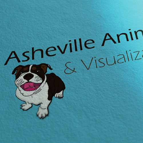 Animation company - fun but semi-sophisticated logo