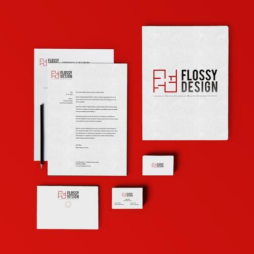 Branding Identity For Flossy Design
