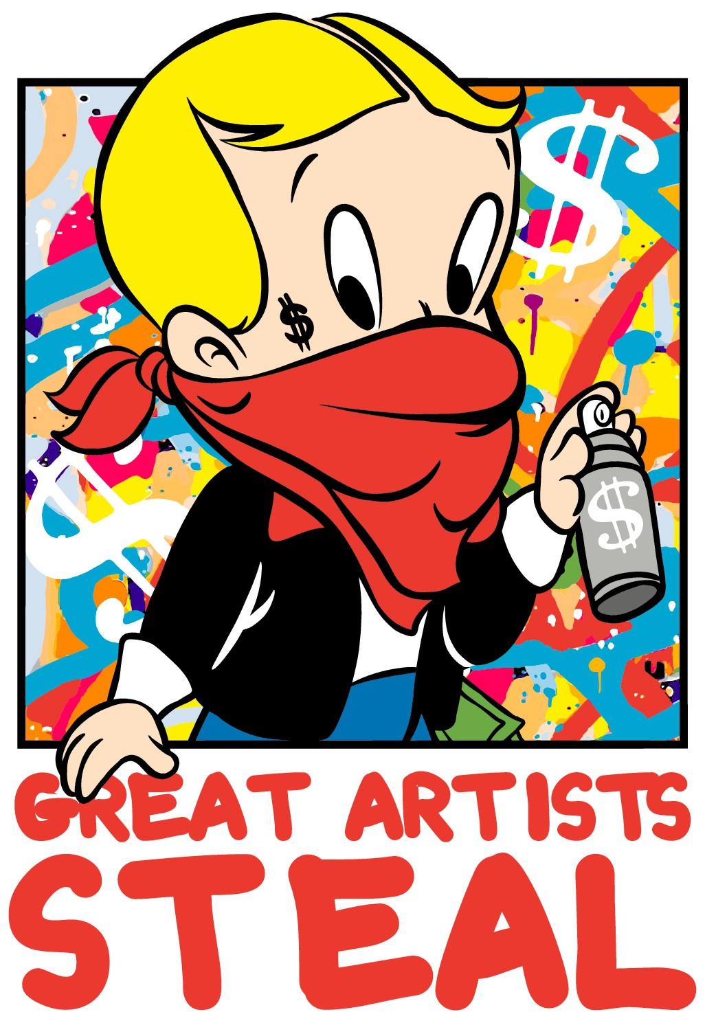 """Good artists copy, Great artists steal."" ~ Shirt Design Contest"