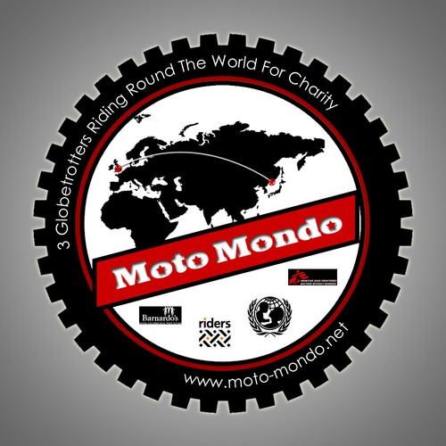 Round The World Motorcycle Trip - Logo Needed