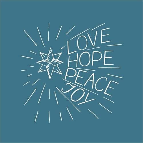 Love Hope Peace Joy
