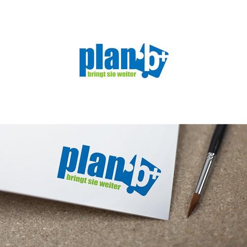 Logokonzept für plan b
