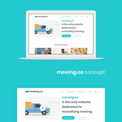 Design for a moving company