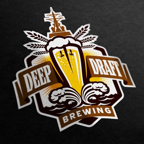 Logo for Deep Draft Brewing