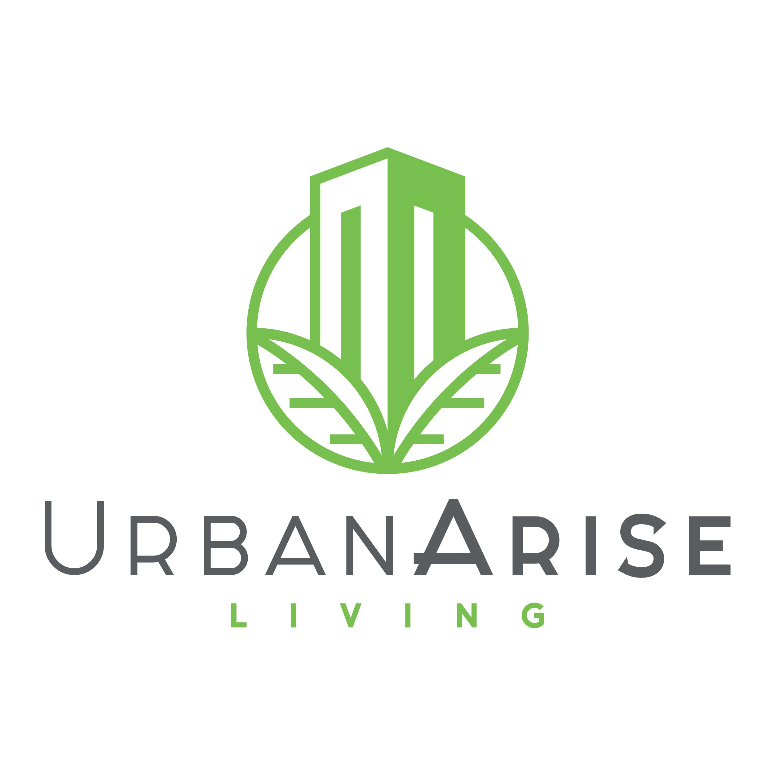 Design a modern chic sophisticated commercial real estate logo.