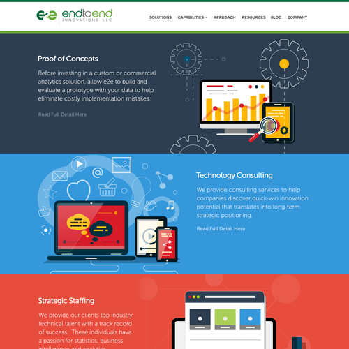 WordPress Theme design for E2E