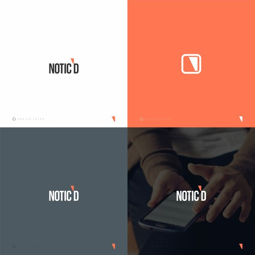 Logo Design for Notic'd