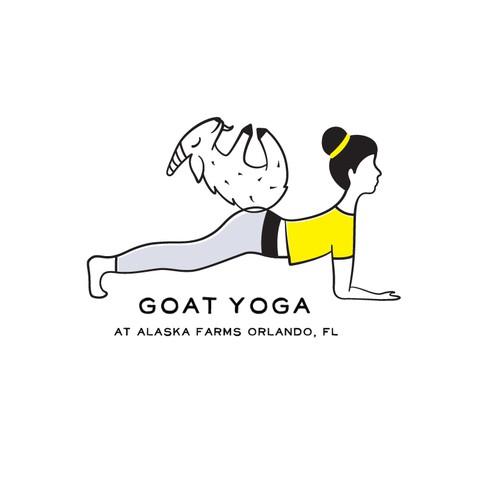 Logo for Goat Yoga