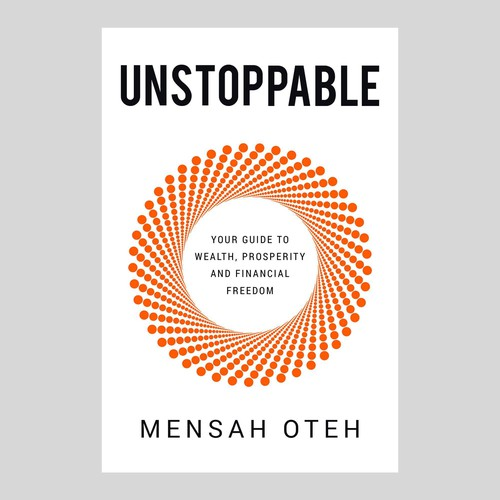 UNSTOPPABLE - Simple But Elegant Book Cover Design Concept