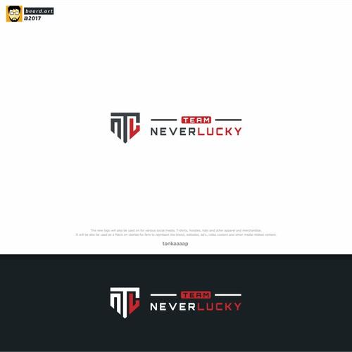 team never lucky logo