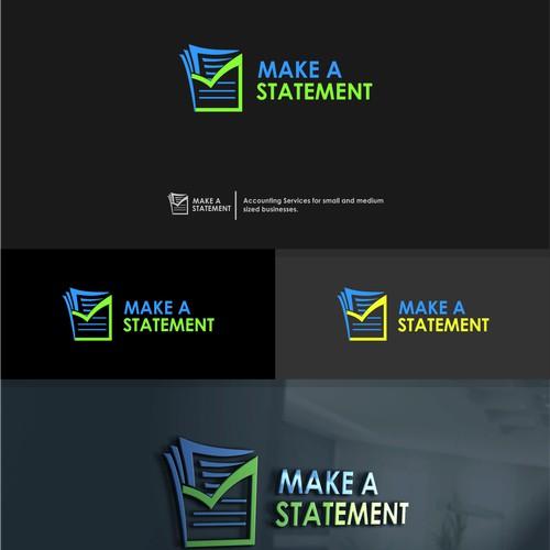 Logo Brand Make a Statement