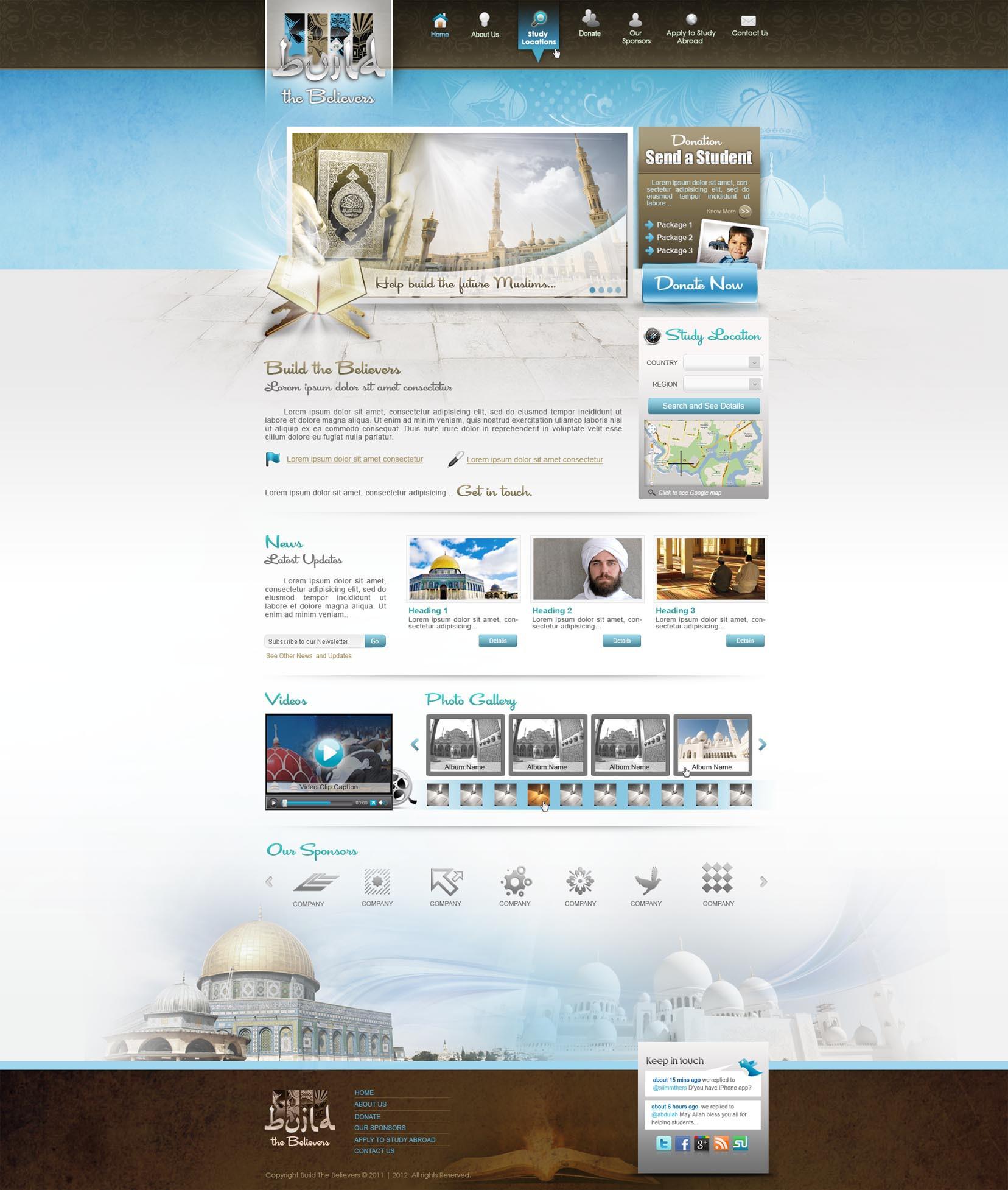 "RELIGION WEBSITE NEEDED: ""BUILD THE BELIEVERS"""