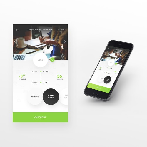 App Design for Guest Experience in a Restaurant
