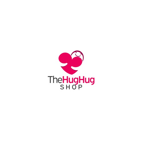 Hug logo for theHughug Shop