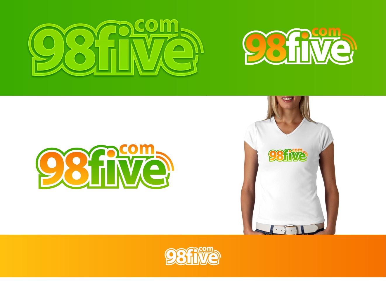 Create the next logo for 98five.com