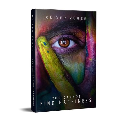 Book cover concept for a nonfiction book
