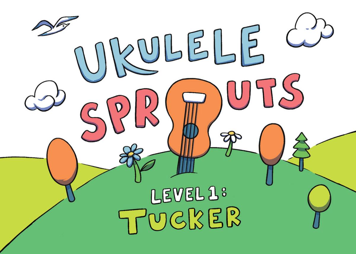 Ukulele Sprouts Kids Flipbook + Parents Handbook + Virtual Mock Up