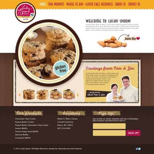 Gluten Free Bakery Needs Clever & Creative Web Site