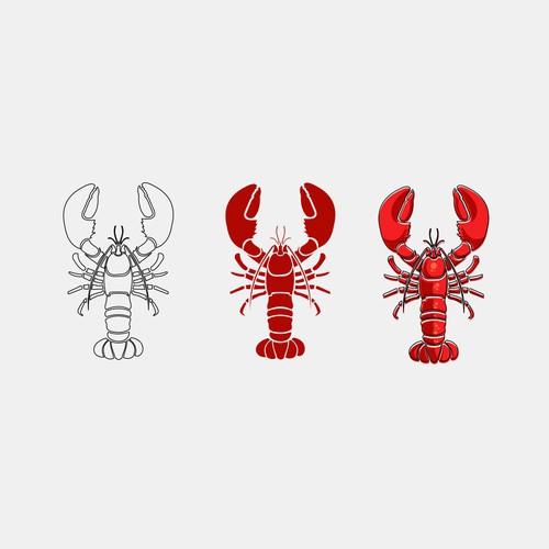 Lobster Mascot Design