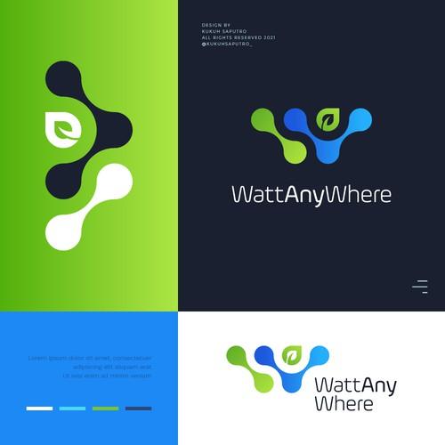 Logo Design for WattAnyWhere