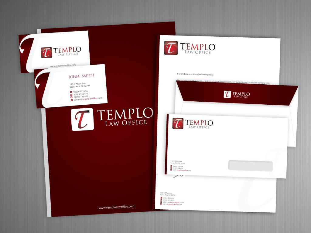 stationery for law office