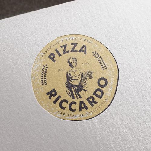 Logo for Pizza Riccardo