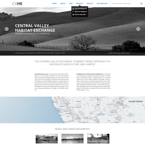 Single home page template