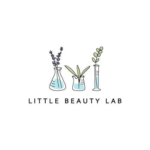 Logo for lab that formulates cosmetics